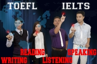 TOEFL and IELTS review center